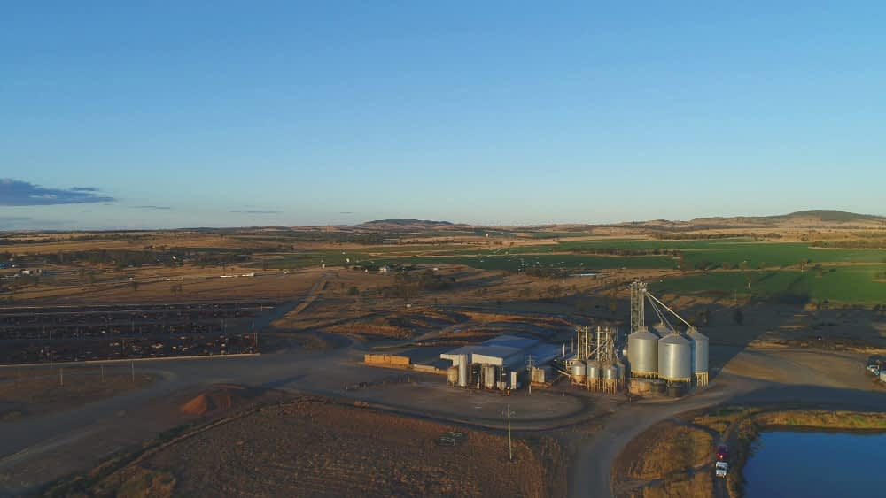 australian country choice brindley park feedlot lot feeding roma internet wide area wi-fi Agriculture Internet services for farms, feedlots & Agservices Wireless networks Wi-Fi networks Design and consulting telecommunications services