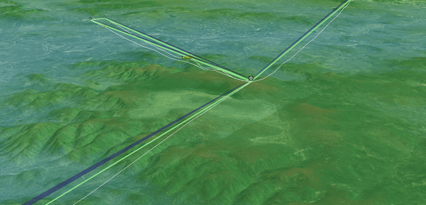 Heat Mapping of proposed repeater tower locations is a critical design component