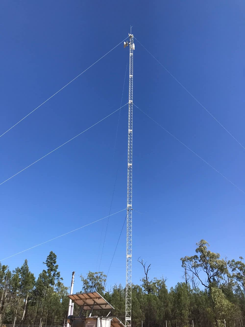 Sydeva reedy creek repeater tower