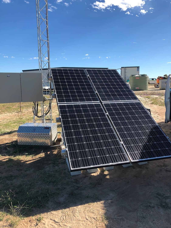 Western Surat Gas Project senex energy remote telecommunications